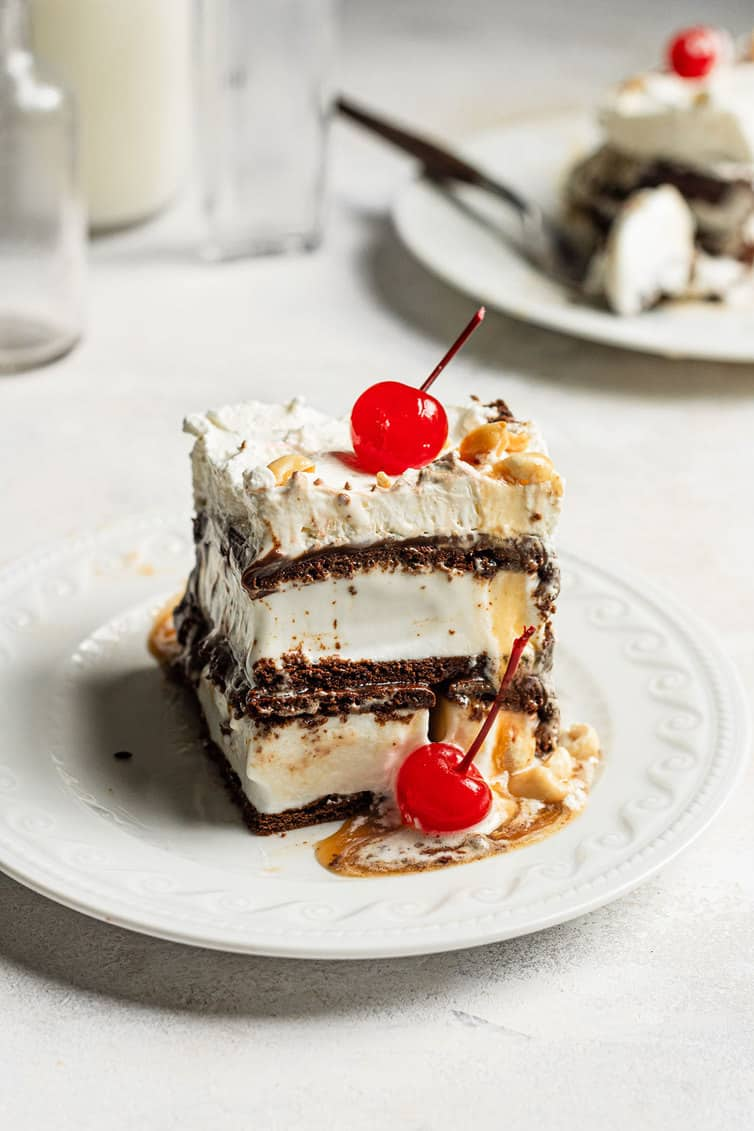 Easy Ice Cream Sandwich Cake Brown Eyed Baker
