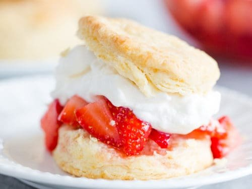 Easy Homemade Strawberry Shortcake Recipe Brown Eyed Baker