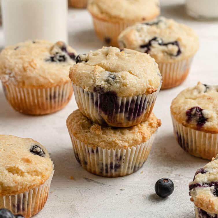 Photo of The Best Blueberry Muffins