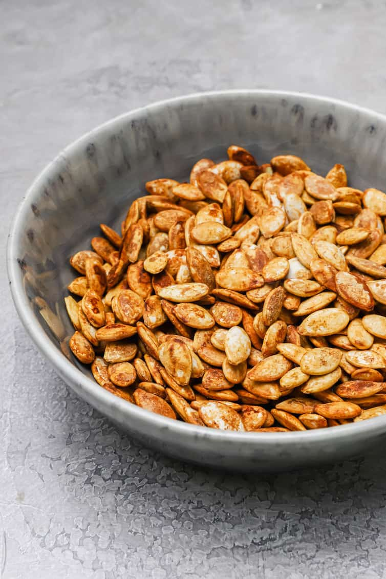 How To Roast Pumpkin Seeds With 3 Recipes Brown Eyed Baker