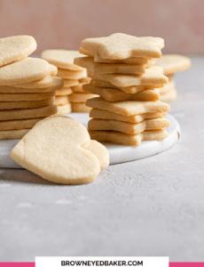Cookies recortados de açúcar   Brown Eyed Baker 3