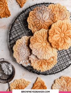 Receita de Pizzelle da Vovó |  Brown Eyed Baker 81