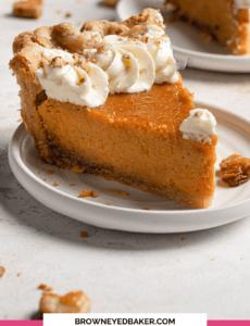 Torta De Batata Doce Caseira | Brown Eyed Baker 3