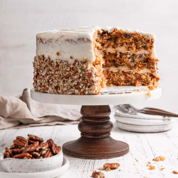 My All Time Favorite Carrot Cake Recipe Brown Eyed Baker