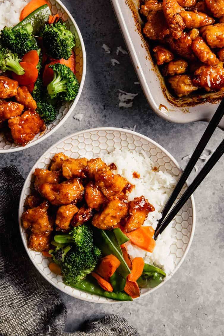 Crispy Sweet And Sour Chicken Brown Eyed Baker
